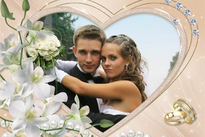 Онлайн фотошоп свадебный бесплатно